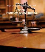 Cover for Penelitian Hukum Doktrinal